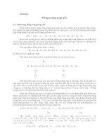 Giáo trình - Hóa lý các hợp chất cao phân tử - chương 3 docx
