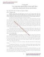 GIÁO TRÌNH PHÂN TÍCH MÔI TRƯỜNG - PHẦN 1 CƠ SỞ LÝ THUYẾT HOÁ HỌC PHÂN TÍCH (phân tích định lượng) - CHƯƠNG 3 pdf