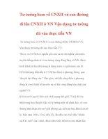Tư tưởng hcm về CNXH và con đường đi lên CNXH ở VN pps