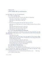 Giáo trình công nghệ chế tạo phụ tùng - Chương 8 CÔNG NGHỆ CHẾ TẠO BÁNH RĂNG doc