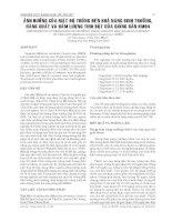 BÁO CÁO NGHIÊN CỨU KHOA HỌC KỸ THUẬT: ẢNH HƯỞNG CỦA MẬT ĐỘ TRỒNG ĐẾN KHẢ NĂNG SINH TRƯỞNG, NĂNG SUẤT VÀ HÀM LƯỢNG TINH BỘT CỦA GIỐNG SẮN KM94 ppsx