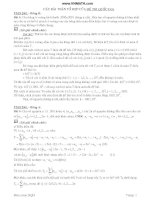 các bài toán tổ hợp của đề thi quốc gia pot