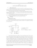 Tài liệu hướng dẫn thực tập công nhân điện tử viễn thông part 1 pdf