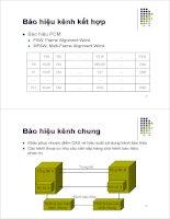 Bài giảng : Kỹ thuật điện thoại - Báo hiệu trong điện thoại part 2 pdf