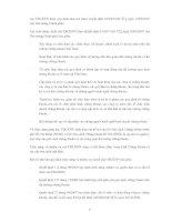 TỰ DO HÓA THỊ TRƯỜNG CHỨNG KHOÁN VIỆT NAM - CÁC VẤN ĐỀ CHỦ YẾU ĐỐI VỚI CƠ QUAN QUẢN LÝ NHÀ NƯỚC VỀ CHỨNG KHOÁN VÀ CÁC CÔNG TY CHỨNG KHOÁN TRONG NƯỚC - Phần 2 ppt