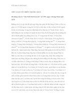 Tiểu luận về chiến tranh - Phần 7 ppt