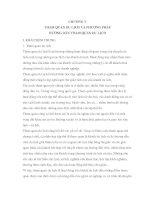 Giáo trình nghiệp vụ hướng dẫn - CHƯƠNG V THAM QUAN DU LỊCH VÀ PHƯƠNG PHÁP HƯỚNG DẪN THAM QUAN DU LỊCH potx