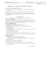 Giáo trình giải phẩu thú y: Chương bộ máy tiệt niệu sinh dục docx