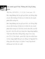 Văn minh người Việt: Những đời sống bị lãng quên pdf
