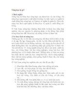 Giáo trình -Trồng trọt đại cương-chương 1 doc