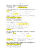 Một số câu hỏi thi hết môn dinh dưỡng học pps
