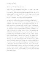 Tiểu luận về chiến tranh - Phần 8 ppt