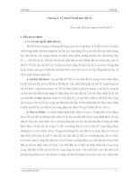 Chương 1 - Lý thuyết danh mục đầu tư ppt