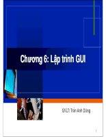 Chương 6: Lập trình GUI pdf