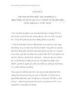 Các nguồn nước khoáng & nước nóng Việt Nam - CHƯƠNG 5 PHƯƠNG HƯỚNG ĐIỀU TRA NGHIÊN CỨU, KHAI THÁC, SỬ DỤNG, QUẢN LÝ VÀ BẢO VỆ TÀI NGUYÊN NƯỚC KHOÁNG - NƯỚC NÓNG pdf
