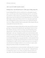 Tiểu luận về chiến tranh - Phần 9 ppt