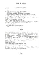 Giáo án hình 12 cơ bản  Học kì I