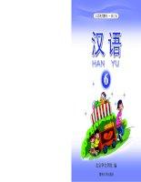 Giáo trình Hán ngữ Han Yu Quyển 6 ppsx