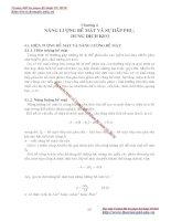GIÁO TRÌNH HÓA LÝ LỸ THUẬT MÔI TRƯỜNG - Chương 4 NĂNG LƯỢNG BỀ MẶT VÀ SỰ HẤP PHỤ, DUNG DỊCH KEO docx