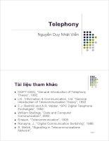 Bài giảng : Kỹ thuật điện thoại - Lịch sử phát triển part 3 pps