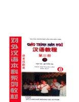 Giáo Trình Hán Ngữ - Quyển 6 pot