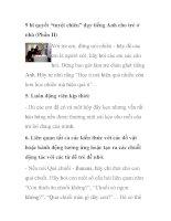 """9 bí quyết """"tuyệt chiêu"""" dạy tiếng Anh cho trẻ ở nhà (Phần II) pot"""