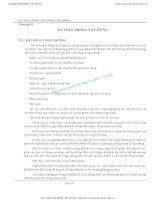 Giáo trình An toàn lao động và môi trường công nghiệp - Chương 6 doc