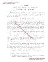 GIÁO TRÌNH PHÂN TÍCH MÔI TRƯỜNG - PHẦN 1 CƠ SỞ LÝ THUYẾT HOÁ HỌC PHÂN TÍCH (phân tích định lượng) - CHƯƠNG 4 pot