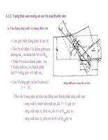 Bài giảng nguyên lý cắt gọt gỗ : Nguyên lý và công cụ lạng – bào, cạo nhẵn part 2 ppsx