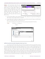 Quá trình hình thành giáo trình cách tạo ra các đoạn phim tương tác bằng hiệu ứng check in movie flash p7 ppsx