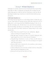Luận văn - MÃ HÓA THÔNG TIN - Chương cuối docx