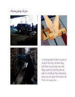 Bài giảng nguyên lý cắt gọt gỗ : Lý luận chung quá trình cắt gỗ part 2 doc