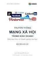 Truyền thông xã hội trong kinh doanh