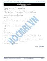 Đề kiểm tra định kỳ luyện thi đại học môn toán - Đề số 4 docx