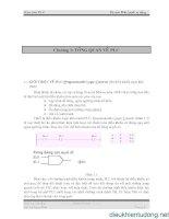 Giáo trình PLC Bộ môn Điều khiển tự động Chương 1: TỔNG QUAN VỀ PLC docx