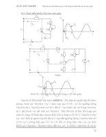 Máy Phát 3 Pha Trên Nguyên Lý Sức Điện Động & Hệ Thống Bảo Vệ Phần 8 potx