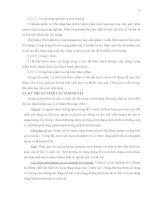 Luận văn : XÁC ĐỊNH MÔI TRƯỜNG TỐI ƯU ĐỂ THU SINH KHỐI VÀ ENZYME CỦA VI KHUẨN BACILLUS SUBTILIS, LACTOBACILLUS ACIDOPHILUS. THỬ NGHIỆM SẢN XUẤT CHẾ PHẨM SINH HỌC part 3 doc