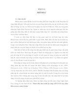 Luận văn : Bước đầu đọc trình tự vùng rDNA-ITS của nấm Rhizoctonia solani Kuhn part 1 pdf