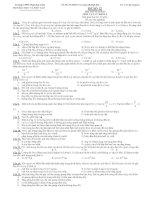 THI THỬ ĐẠI HỌC MÔN VẬT LÝ KHỐI A ĐỀ SỐ 12 - TRƯỜNG THPT PHAN BỘI CHÂU pdf