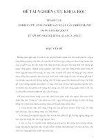 Đề tài : Nghiên cứu công nghệ sản xuất ván ghép thanh dạng finger joint từ gỗ Mỡ (Manglietia glauca anet) part 1 doc