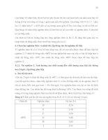 Luận văn : NGHIÊN CỨU QUY TRÌNH SẢN XUẤT MEN BÁNH MÌ KHÔ BẰNG PHƯƠNG PHÁP SẤY THĂNG HOA part 8 ppsx