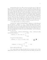 Hóa Enzyme - Phân Tích Phân Tử Enzyme Phần 4 ppsx