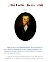 John Locke (1632–1704) PHẦN 1 potx