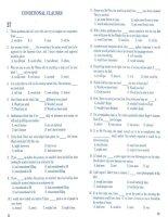 Trắc nghiệm luyện thi đại học chuyên đề ngữ pháp tiếng anh - test 37 - 47 potx
