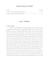Luận văn : KHẢO SÁT KHẢ NĂNG SỬ DỤNG NGUỒN CƠ CHẤT QUEN THUỘC (MẠT CƯA, BÃ MÍA, RƠM) ĐỂ TRỒNG NẤM HẦU THỦ HERICIUM ERINACEUM (BULL.:FR.) PERS part 2 pps