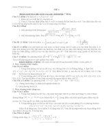 Đề thi thử toán - 1 (có đáp án kèm theo) pptx