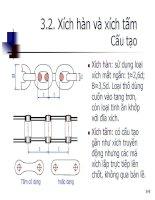 Giáo trình hình thành bản mẫu khối lượng trọng tải của vật nâng đối với các đặc tính cơ bản của máy nâng p4 doc