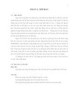 Luận văn : Áp dụng qui trình nuôi chín noãn in vitro trên heo và chó part 1 pot