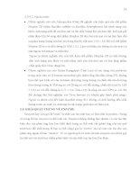 Luận văn : XÁC ĐỊNH MÔI TRƯỜNG TỐI ƯU ĐỂ THU SINH KHỐI VÀ ENZYME CỦA VI KHUẨN BACILLUS SUBTILIS, LACTOBACILLUS ACIDOPHILUS. THỬ NGHIỆM SẢN XUẤT CHẾ PHẨM SINH HỌC part 4 pdf