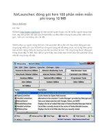 NirLauncher: đóng gói hơn 100 phần mềm miễn phí trong 10 MB pptx